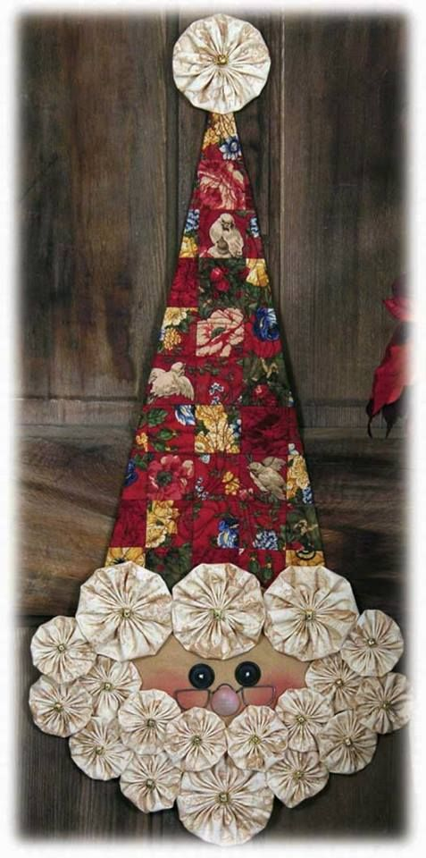 9 best Yo Yo Christmas images on Pinterest Christmas crafts