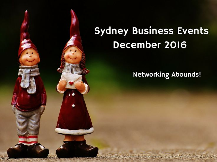 There are still plenty of business networking opportunities before Xmas. Find them here: http://www.bizevents.info/sydney #sydney #ausbiz #bizevents #events #entrepreneur #networking #eventprofs