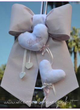 Palloncini a cuore per un fiocco rosa 1