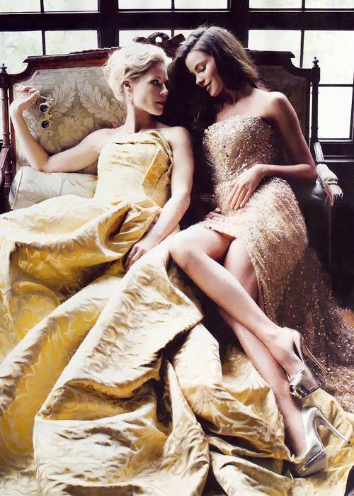 Julie Bowen & Sofia Vergara in People Magazine, April 2013