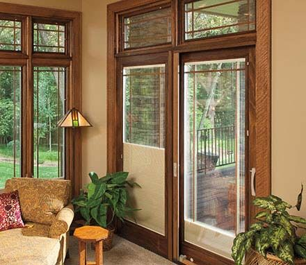 Pella Designer Series Sliding Patio Doors Offer Innovative Features Like  Built In Blinds That Give Your Home Extra Elegance And Personality.