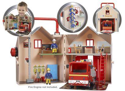 Fireman Sam Firestation Playset