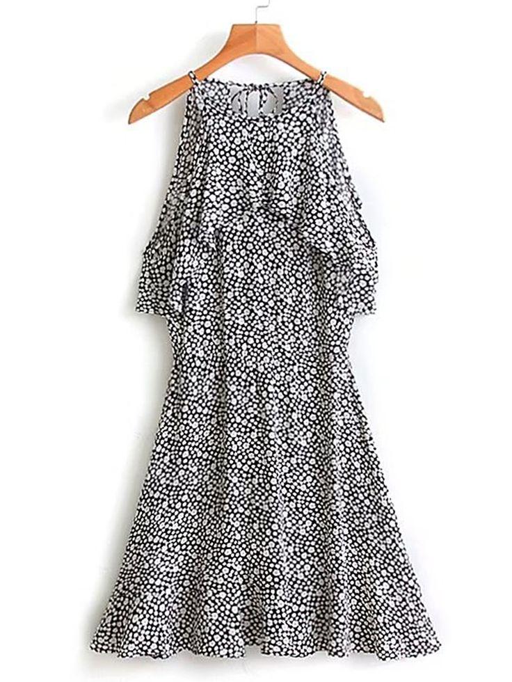 Negozio Vestito svasato con stampa di calicò on-line. SheIn offre Vestito svasato con stampa di calicò & di più per soddisfare le vostre esigenze di moda.