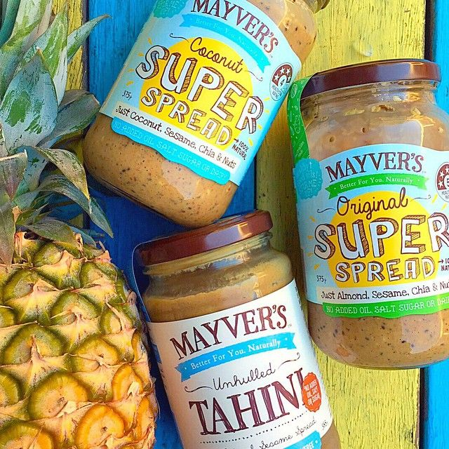 I can't decide which one of these delicious @mayversfood spreads I should add to my smoothie this morning?  What's the best combo? ✅http://kyliepax.com/