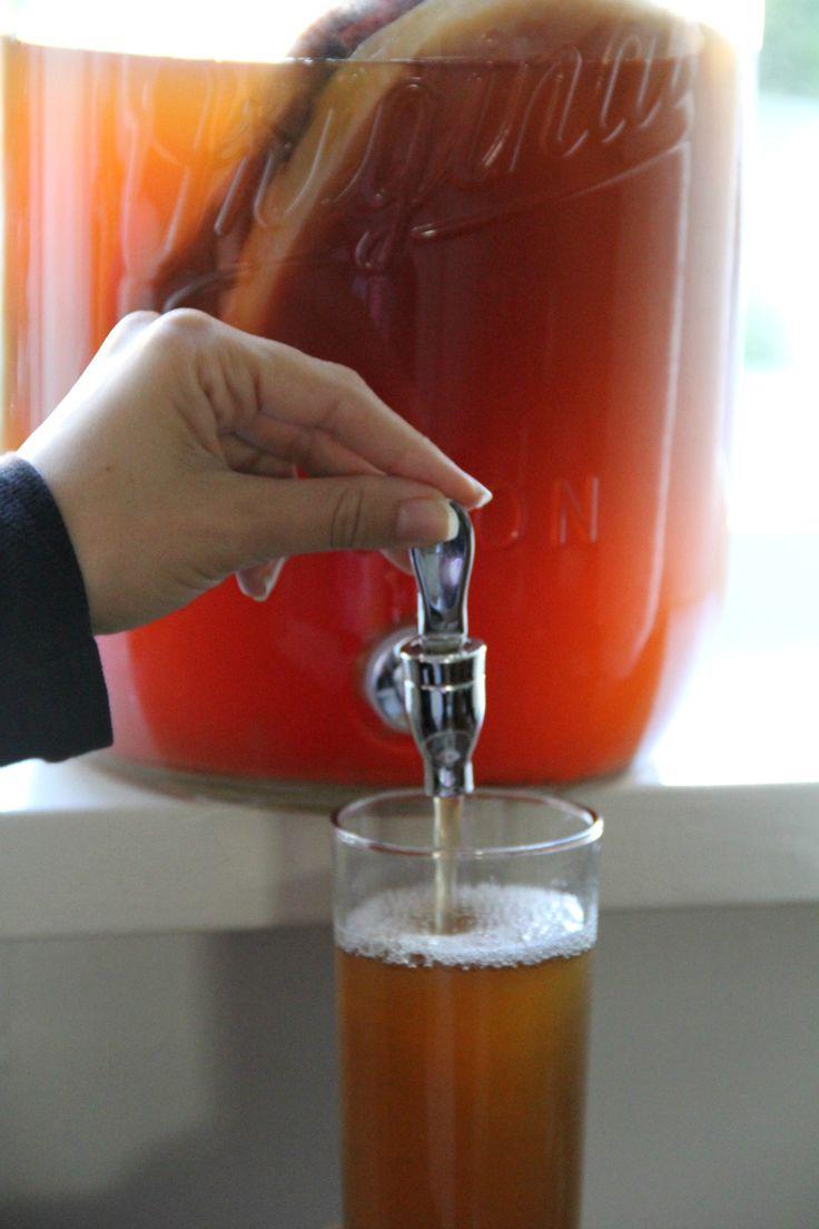 How To Brew Your Own Kombucha All Good Health Kombucha