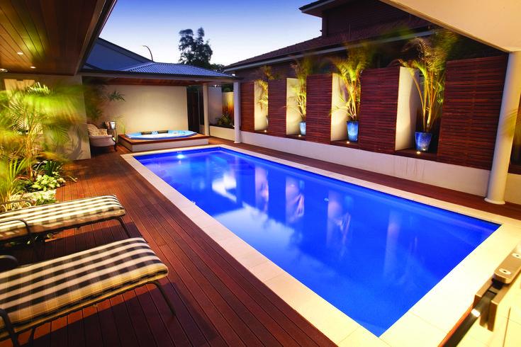 Caprice - SILVER APSP International Fibreglass Pools