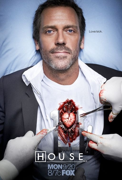 Whats wrong with this pic? ... house doesn't  have a heart! Tv Show | House MD