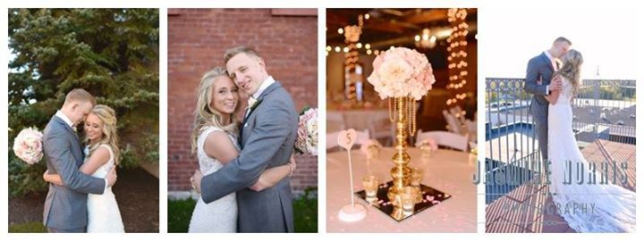 Highlights from Alyssa and Michael's wedding at Mill Top Banquet and Conference Center just hit the blog!  You won't want to miss this one it's filled with tons of gorgeous blush accents!  Check it out at the link below!  http://ift.tt/2gduC1y  Like Jasmine Norris Photography to like comment and to see more images. Feel free to tag share and use just do not crop out the logo.  Ceremony/Reception Venue: Mill Top Banquet and Conference Center Bridesmaid Dresses: David's Bridal Tux Rental…