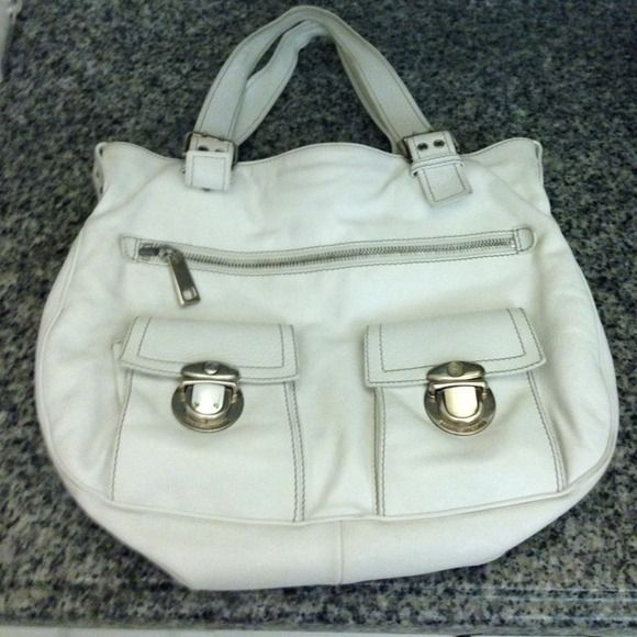 Marc Jacobs Stella bag White Marc Jacobs Stella bag good condition 100% authentic. One eBay I've seen this bag over $500 Marc Jacobs Accessories