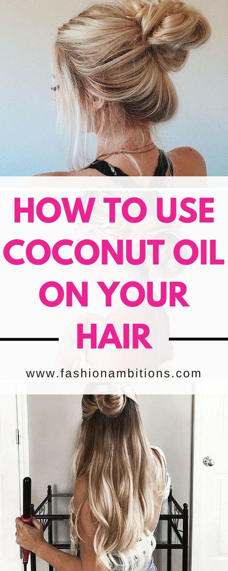 Best  Coconut Oil Uses Ideas On Pinterest - How to use coconut oil on hair