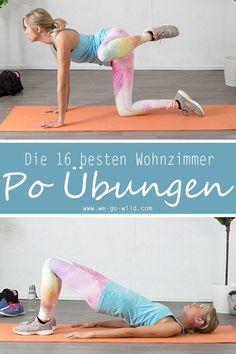 16 Po Übungen, die dein Leben verändern: Das Knackpo Workout – Sarah jeje