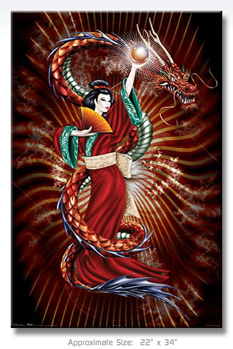 dragon geisha tattoo geisha dragon art pictures images and photos my style pinterest. Black Bedroom Furniture Sets. Home Design Ideas