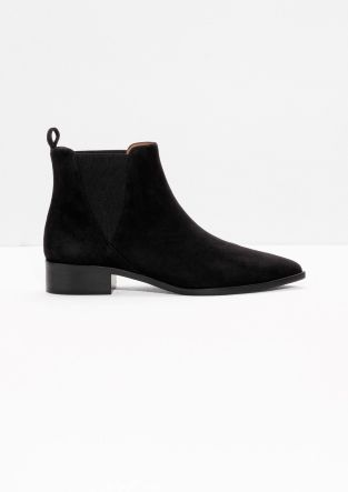 1000 Ideas About Black Suede Chelsea Boots On Pinterest