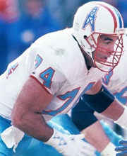 G - Bruce Matthews #74 [Houston Oilers]