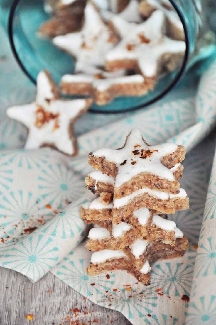 Weihnachtsbäckerei | Keks Rezept für Chili-Zimtsterne zum Selberbacken | luzia pimpinella