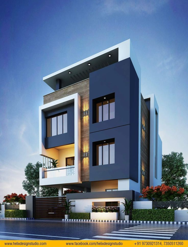 Pin By Mr Reddy On Elevations Small House Elevation Best Modern House Design Latest House Designs