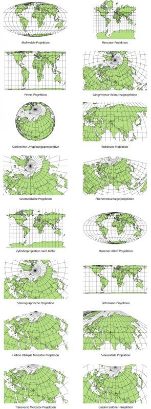Cartographic Anomalies: How Map Projections Have Shaped Our Perceptions of the World - GIS Lounge
