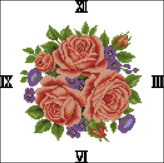 """Сачать схему вышивки """"Wedding Rose - Red"""" (Otwo Design)"""