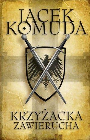 """Oto """"Krzyżacka zawierucha"""" najnowsza książka Jacka Komudy, jego literacki hołd dla 600-lecia bitwy pod Grunwaldem. Przekorny, nie lukrowany, żywy do bólu. 18 września 1454, pole bitwy pod Chojnicami. Straszliwa klęska przeważających sił rycerstwa polskiego. Triumfuje taktyka i sprawność krzyżackich jednostek najemnych. Pomsta za Grunwald. Młody rycerz Bolko z Rożnowa, wnuk nieśmiertelnej..."""