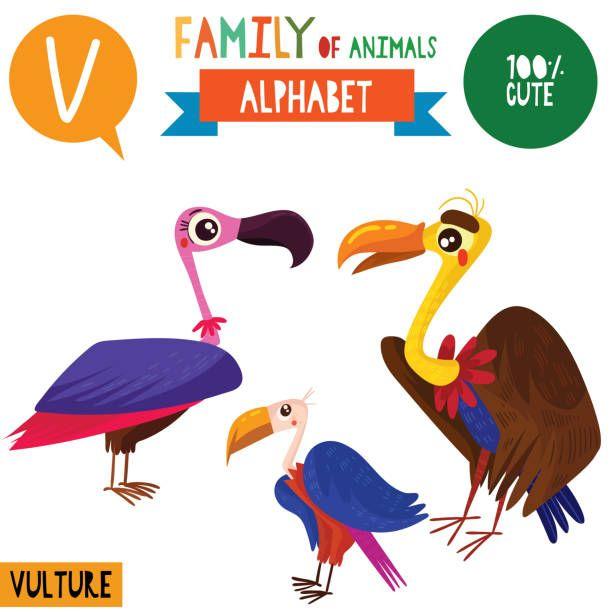 V Is For Cute Cartoon Animals Cartoon Styles Animals