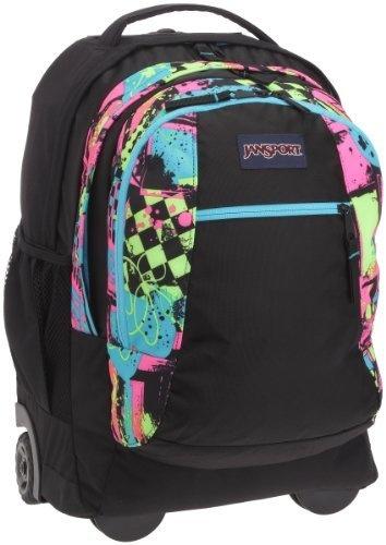 JanSport Driver 8 Core Series Wheeled Backpack, Black/Fluorescent Street Scene JanSport,http://www.amazon.com/dp/B008FRK7OY/ref=cm_sw_r_pi_dp_CzbIrb89F7A24B82