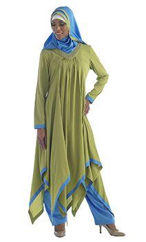 Pea green Sawar kameez 3pc