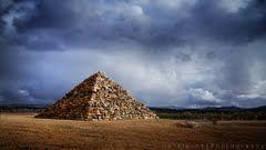 Ballandean Pyramid - https://www.google.com/maps/place/28%C2%B048'53.2%22S+151%C2%B051'04.4%22E/@-28.7961557,151.8616963,14z/data=!4m2!3m1!1s0x0:0x0?hl=en