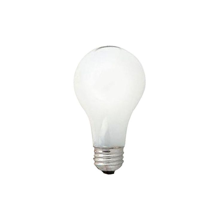 Sylvania 60-Watt Incandescent A19 Standard Coat Light Bulb (24-Pack)