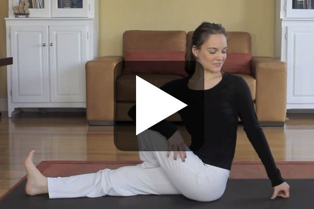 No-Sweat Morning Yoga – I just did this this morning and it is fabulous!!! Super easy and energizing. Perfect for beginners!