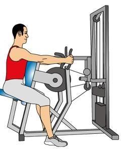 rows exercise machine