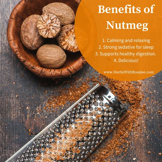 Nutmeg is more than a simple culinary spice. The benefits of nutmeg include reduced anxiety, sound sleep, better digestion, and help for colds and the flu.