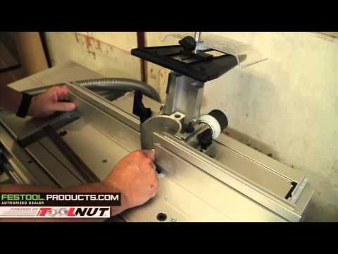 Festool CMS Router Table:  Part 2 - YouTube