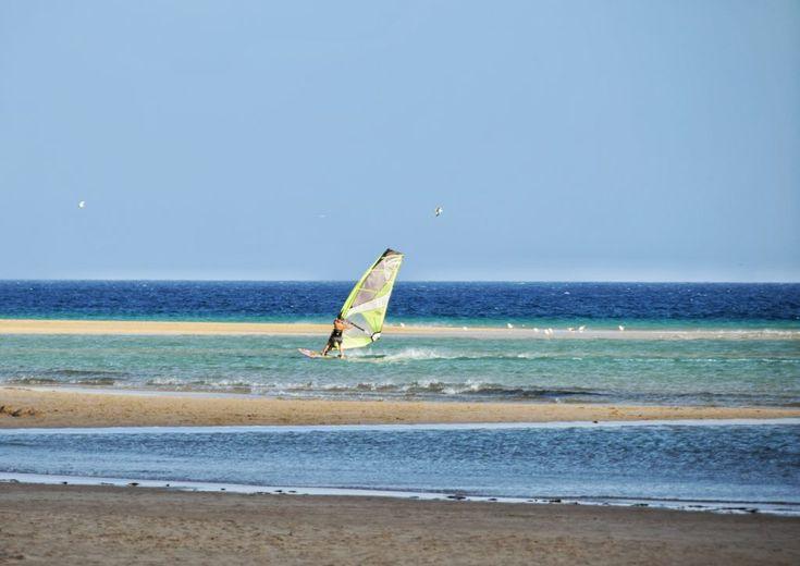 Fuerteventura, windsurf, spiaggia e vento
