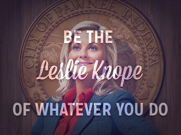 Leslie Knope - Parks & Recreation NBC Amy Poehler