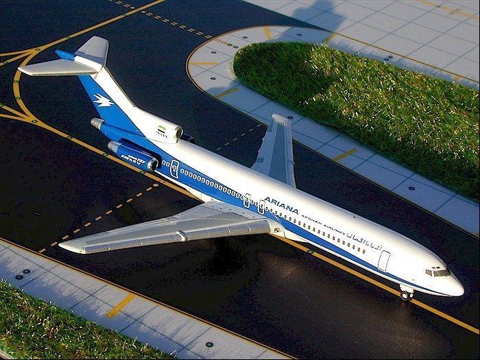 Gemini Jets GJAFG307 1:400 Diecast Model Boeing 727-200 ARIANA 'Afghan Airlines'…