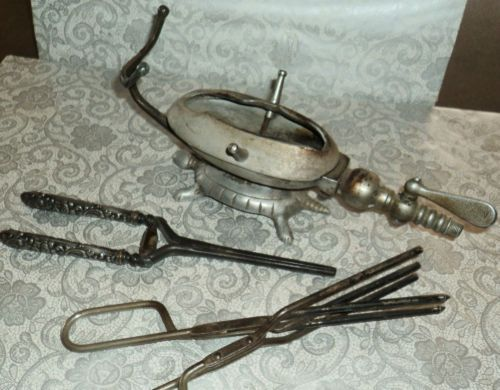 First Electric Curling Iron ~ Best images about vintage hair equipment on pinterest