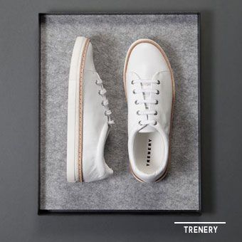 Crisp white shoes from @trenery @westfieldnz #fashionfit