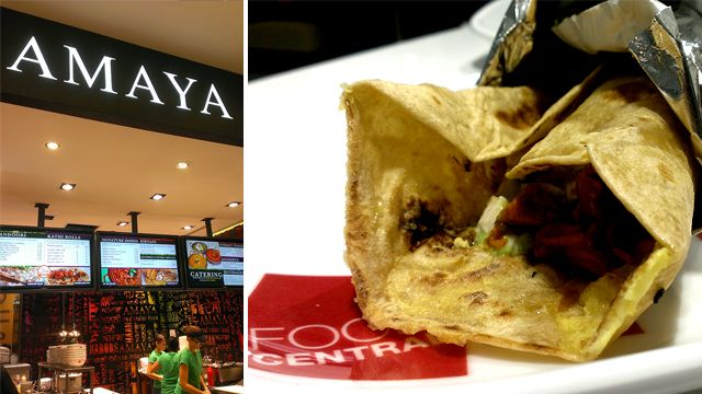 Quick Bite, Lunch: Amaya