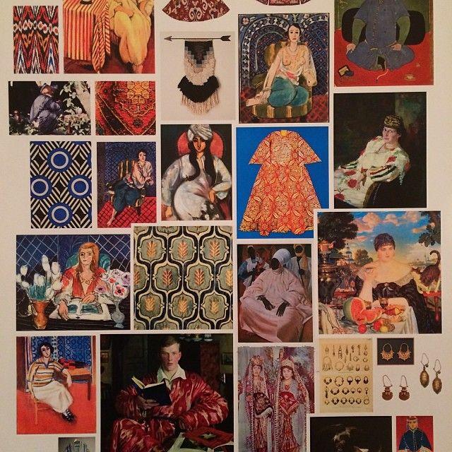 ivebeentothewonderland: Ulyana Sergeenko Haute Couture spring-summer 2014 moodboards