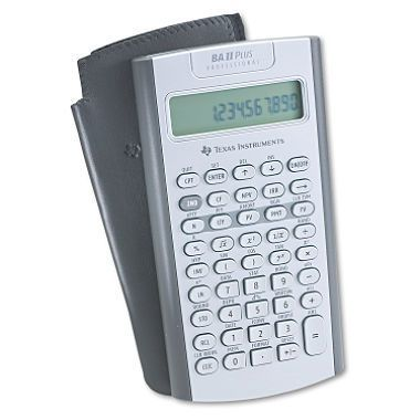 CALCULADORA FINANCIERA TEXAS INSTRUMENTS BA II PLUS