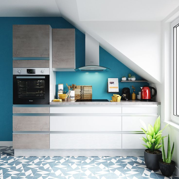 1454 best cuisines kitchens images on pinterest marie - Carrelage geometrique ...
