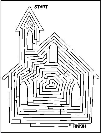 church mazes for kids - Google Search