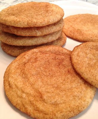 Mary's Busy Kitchen - GF Snickerdoodles