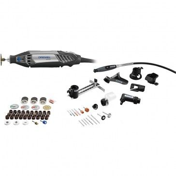 Dremel 4200-8/64 Corded Rotary Tool Kit, 75-Piece Platinum Edition. Holiday gifts over $100