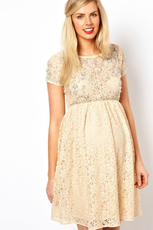 ASOS maternity dress - cute for baby shower