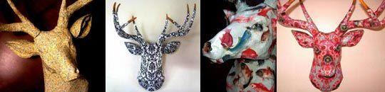 More deer heads