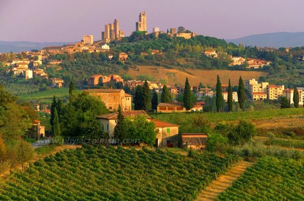 Siena - San Gimignano  Tuscany
