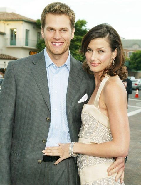 Tom Brady and Bridget Moynahan  back in the day, son wants to be a Soccer Player or Olympic Swimmer