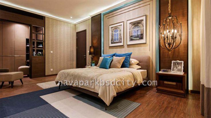 Design Interior Master Bedroom rumah Lakewood NavaPark BSD City