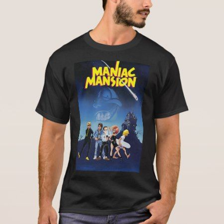 Maniac Mansion T-Shirt - click to get yours right now!